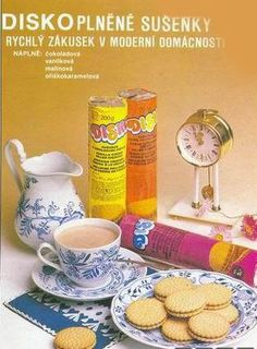 Reklama - Disko sušenky Retro 1, Illustrators, Design, Ads, Memoirs, Illustrator, Illustrations