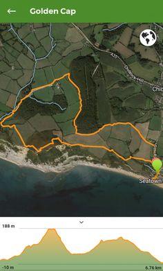 Golden Cap Walk - 4 Mile circular from seatown Saint Gabriel, Dorset Coast, South West Coast Path, Lyme Regis, Gravel Path, Wooden Gates, Stone Path, Holiday Park, Woodland