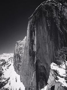 Ansel Adams - Monolith, the Face of Half Dome, Yosemite National Park