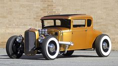 1931 Ford Model A 5 Window Coupe HP, Henry Ford Steel Body presented as lot at Indianapolis, IN 2016 - Traditional Hot Rod, Lifted Ford Trucks, Abandoned Cars, Henry Ford, Koenigsegg, Bugatti Veyron, Ford Models, Drag Racing, Concept Cars