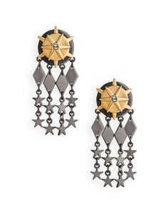 Great earings - Nautical stars.