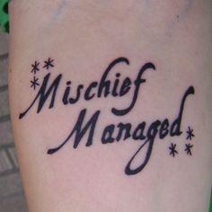 get a Harry Potter tattoo