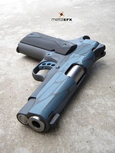 1911 Cerakote kimber guns blue style design art metal efx