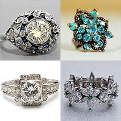 Vintage Engagement Rings | Squitter Blog