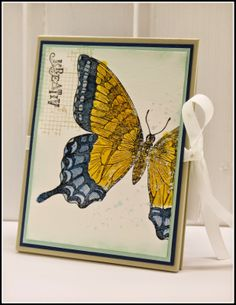 Stampin`Up! Watercolor, Swallowtail, Off the Grid, Gorgous Grunge, Kartenetui, Kartenbox, Card Box,