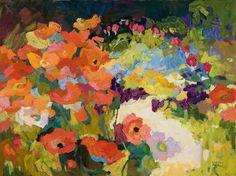 Larisa Aukon,  Garden-Variety by Larisa Aukon Oil ~ 18 x 24