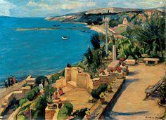 Micul paradis al României Mari Stork, Painters, Art Gallery, Water, Outdoor, Beauty, Gripe Water, Outdoors, Art Museum
