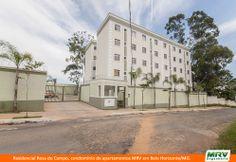 Paisagismo do Rosa do Campo. Condomínio fechado de apartamentos localizado em Belo Horizonte / MG.