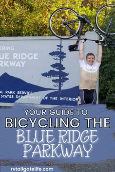 Do you love to bicycle? Then one of your bucket list goals should be to bicycle the entire Blue Ridge Parkway! And what better way to do it than with RV support? Travel the entire National Park on bicycle, explore the awesome stops along the way, and check off another bicyclist bucket trip item! You will love Virginia and North Carolina! Travel Items, Rv Travel, Travel Info, Travel Destinations, Aids Lifecycle, Parks Department, Blue Ridge Parkway, Group Travel, Rv Life