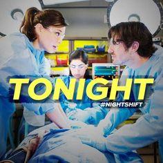 "New ER Drama on NBC Tonight ""The Night Shift"". My new favorite TV  show!!!!"