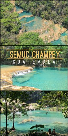 Semuc Champey: A Not So Off the Beaten Track Destination in Guatemala Belize, Costa Rica, Panama, Tikal, Places To Travel, Places To See, Travel Destinations, San Salvador, South America Travel