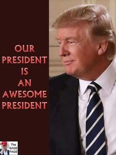The democrats and liberals know it, they just don't want to admit it. Trump has accomplished all that he wanted to accomplish in his first year. He's doing amazing!!!
