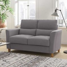 Loveseats are the perfect cozy seat for movie-night, games-night, or just the spot to curl up with a great book and a glass of wine! Night Games, Loveseats, Loveseat Sofa, Great Books, Home Office, Small Spaces, Relax, Cushions, Cozy