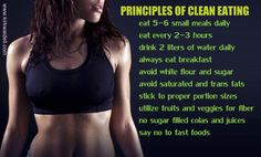 Principles of Clean Eating facebook.com/coachnormalatta.com