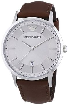Armani AR2463 43mm Stainless Steel Case Brown Leather Men's Watch Emporio Armani http://www.amazon.co.uk/dp/B00BEXYHII/ref=cm_sw_r_pi_dp_EhrUvb0ZCT9X2