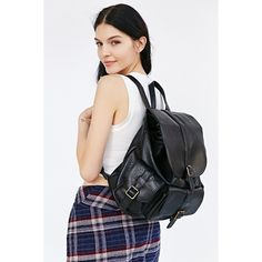 BDG Classic Pocket Backpack ($30) ❤ liked on Polyvore featuring bags, backpacks, pocket backpack, backpack bags, pocket bag, bdg bags and day pack backpack