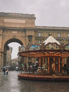 #florence #italy #rain