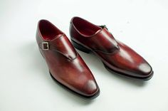 Casual Leather shoes for Men by carinovn on Etsy