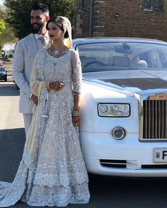 Our one of beautiful couple from Uk . Mashallah u guys looking absolutely gorgeous may Allah bless you both with loads of happiness, Aameen. For any info please contact on Whatsapp 00447966613469 . Asian Wedding Dress Pakistani, Asian Bridal Dresses, Pakistani Bridal Couture, Pakistani Wedding Dresses, Bridal Outfits, Indian Bridal, Nikkah Dress, The Dress, Beautiful Couple