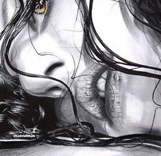 ✿ Christina PAPAGIANNI  Derwent watercoçor pencils