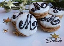 Mocca zrna Mocca, Christmas Wrapping, Christmas Cookies, Cake Decorating, Decorating Ideas, Cheesecake, Baking, Food, Advent