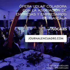 Revista Encuadre » Ópera UDLAP colabora con la Asociación de Empresas y Empresarios de Tlaxcala