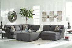 $1256 Signature Design by Ashley Jayceon Sectional & Reviews | Wayfair