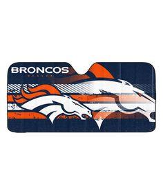 NFL - Denver Broncos Auto Shade x - Primary Logo, Alternate Logo and Wordmark Windshield Sun Shade, Car Sun Shade, Denver Broncos Football, Broncos Fans, Bronco Car, Discount Shopping Sites, Sports Team Apparel, Accordion Fold, Autos