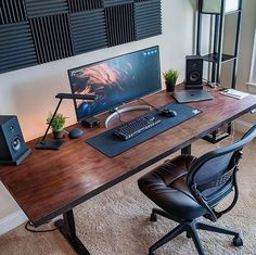 Best Computer Chair for Long Hours of Sitting Office Setup Ideas Inspiration Ergonomic Concept Home Office Setup, Home Office Space, Home Office Desks, Office Chairs, Office Workspace, Workspace Design, Office Interior Design, Office Interiors, Gaming Room Setup