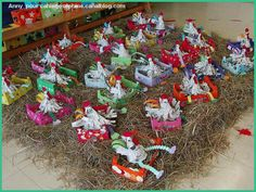 I have to do this craft with the kids. These chickens are so CUTE!