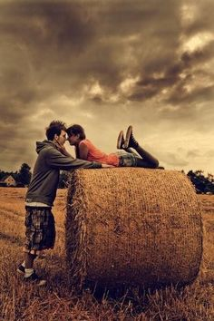 Country Love.<3 (with cowboy boots and jeans of course)