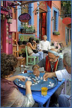 street scene in Istanbul - Istanbul, Istanbul