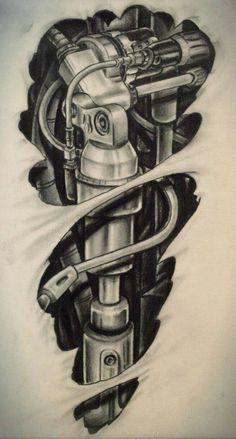 roboticks tattoo design