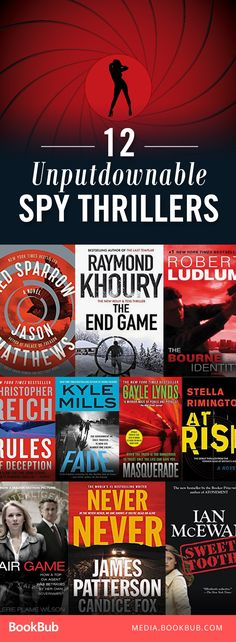 These 12 thriller books are full of twists and suspense. You won't be able to put them down!