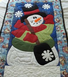 Holiday quiltChristmas by allwaysbloomindesign on Etsy, $50.00