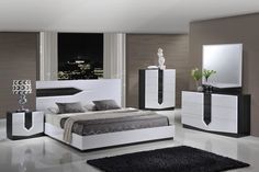 White Bedroom Furniture Sets White Bedroom Furniture Sets global furniture hudson 4 piece platform bedroom set in zebra grey White Gloss Bedroom Furniture, Black Furniture, Bedroom Furniture Sets, Bedroom Decor, Furniture Usa, Furniture Ideas, Furniture Stores, Cheap Furniture, Design Bedroom