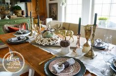 Fall tablescape series. What style are you?