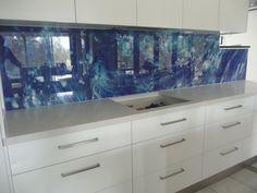 Printed Glass Gallery - Glass Splashbacks Gold Coast   In Glass Design
