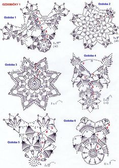 Best 12 – Page 838584393092934538 - Her Crochet Crochet Snowflake Pattern, Crochet Motif Patterns, Christmas Crochet Patterns, Crochet Snowflakes, Crochet Diagram, Crochet Doilies, Crochet Flowers, Crochet Ball, Thread Crochet