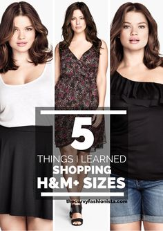 5 Things I Learned About Shopping H&M Plus Sizes