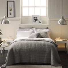 Paisley Bed Linen Collection from The White Company.  www.thewhitecompany.com