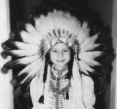 Barbra Streisand, approximately age 5-7.