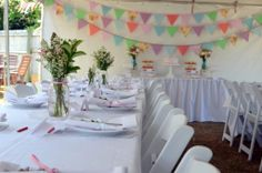 Marquee Baby Shower - Style My Celebration 8
