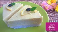 Paleo, Vegán nyers citromtorta (gluténmentes, tejmentes, tojásmentes…