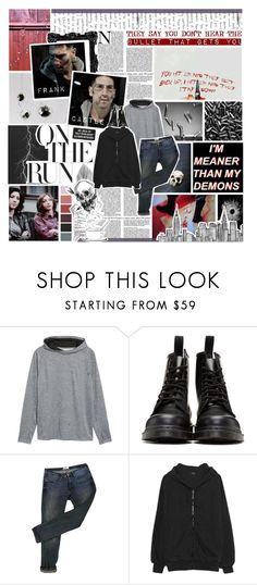"""""""my thoughts never stop"""" by forebodinq ❤ liked on Polyvore featuring Luana, Paul Frank, Zella, Dr. Martens, Acne Studios, Yeezy by Kanye West, Chanel, men's fashion and menswear"""