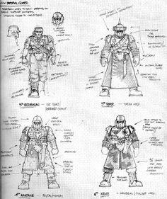 9th Necromundan Regiment - Imperial guard - Necromunda - Warhammer 40K - GW