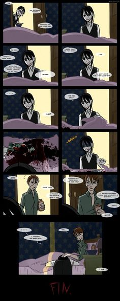 Creepypasta Cafe : off work by Alloween.deviantart.com on @DeviantArt