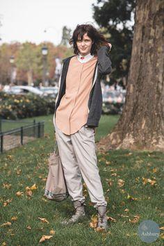 Zlata Mangafic - Paris street fashion