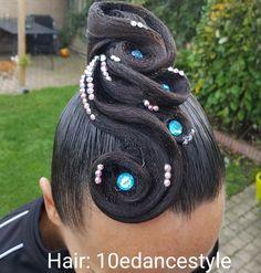 Hair: 10edancestyle #hair #updo #dance #hairdecoration #ballroom #hairdressing #dancesport #dancehair #competitions #dancesporthair #dancesport #ballroomworld #ballroomhair #ballroomhairstyle #hairstylist #hairstyle #stones #swarovski #lotsofhairspray #Standard #nadb #wdsf #rembrandtcup #almere