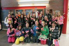 Fulton Junior High's Friends of Rachel Group Spread Valentine Cheer